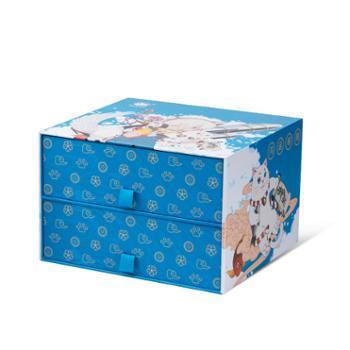 白猫开运小蓝盒白猫天然苏打泡沫洗洁精400g