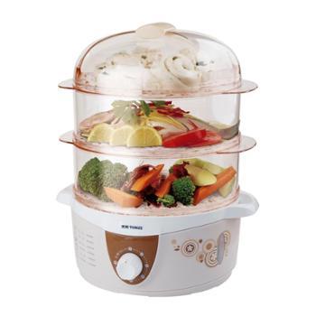Tonze/天际 电蒸锅DZG-40AD 大容量 蒸菜 蒸饭 加热食物 水位窗