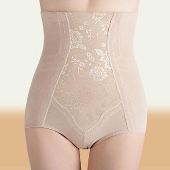 产后高腰收腹裤提臀塑身裤纯棉美体内衣瘦身内裤女士内裤