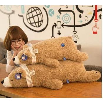 北极熊毛绒玩具趴趴熊公仔企鹅布娃娃抱枕大号儿童玩偶小礼物105cm