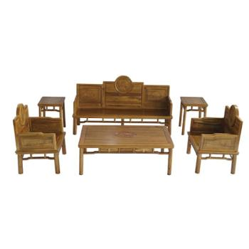 SF002#明式沙发(6件套/11件套)#天祥木制