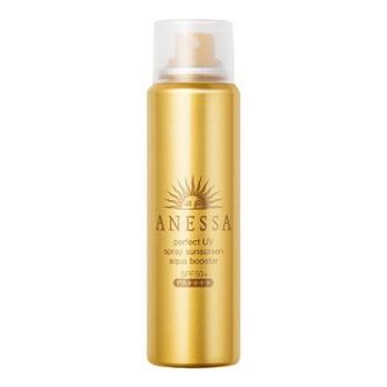 资生堂Shiseido安耐晒金瓶/银瓶防晒喷雾补水保湿60ml(赠送化妆包)