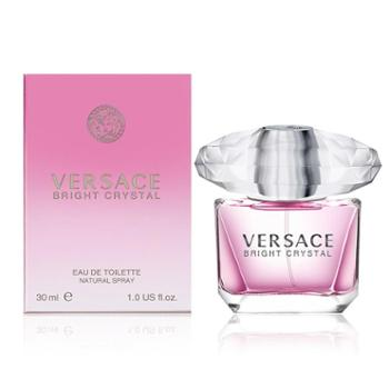 Versace范思哲钻粉钻香恋水晶女士香水30ml