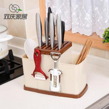 双庆 厨房 筷子 刀叉 刀具架 多功能置物架 SQ-1149-多用刀具架