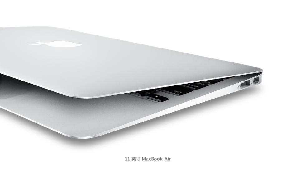 Apple 苹果 MacBook Air 11英寸宽屏笔记本电脑 256GB