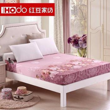 红豆家纺 乐肤绒加厚保暖床笠式床单单件 1.5床罩1.8米床垫套
