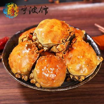 【宁波馆】香辣蟹300g麻辣小海鲜熟食即食罐装零食公母大闸蟹