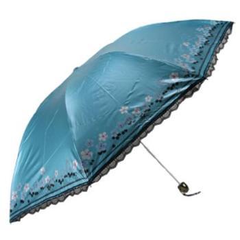 天堂伞 防紫外线遮阳伞晴雨伞女士伞 33015E漫步田园 彩胶