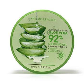NatureRepublic 自然乐园补水保湿舒缓抗过敏芦荟胶啫喱面霜300ml