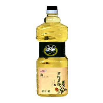 安太茶油 山茶油 菜籽油 食用油调和油健康植物油1.8L 茶籽.菜籽调和油 木本植物油