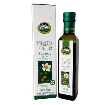 安太山茶油油茶籽油250ml有机山茶油