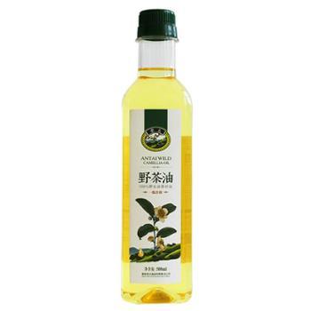 安太山茶油野生山茶油500ml纯茶油