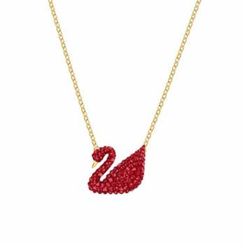 SWAROVSKI施华洛世奇项链红天鹅 白金渐变天鹅黑天鹅系列饰品 时尚女士锁骨链5007735