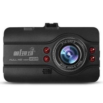 第1现场D108高清行车记录仪1080P高清 超广角 3寸屏红外