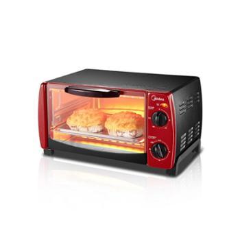 Midea/美的 家用10L多功能 迷你小烤箱 T1-102D