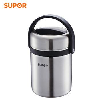 苏泊尔 1.9L高汤宝不锈钢大容量保温饭盒KF19A1