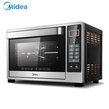 Midea/美的 家用烘焙面包烧烤电烤箱 T4-L326F