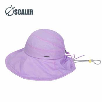 SCALER思凯乐户外女款遮阳超轻帽子速干印花太阳帽皮肤帽S7216235