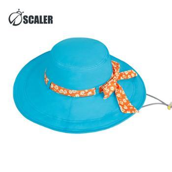 SCALER思凯乐户外女款遮阳帽子速干帽超轻太阳帽防晒帽S7216238