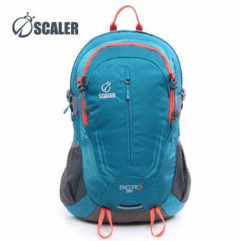 SCALER思凯乐户外双肩包大容量32L背包男女Z6322016登山包书包