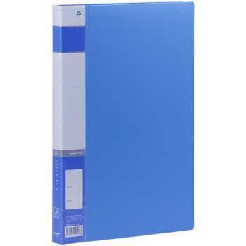金得利AF602单强力带插袋文件夹A4商务文件夹资料夹整理夹 单个商品