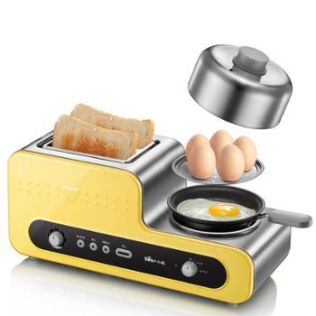 Bear/小熊 ZDQ-D05B5家用多功能早餐机煎烤烙吐司机煎蛋器烤煎蛋