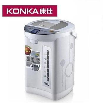 康佳 活力水星 优质不锈钢内胆电热水瓶/保温瓶 5L容量 KGSH-502