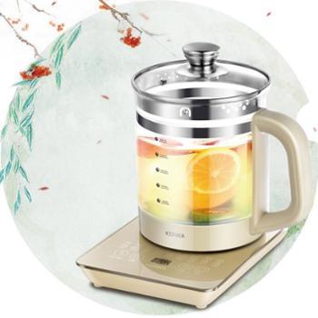 康佳 雅典娜KGYS-0827养生壶升级版养生壶加厚玻璃全自动分体花茶保温煮茶熬药水壶电茶壶 电热瓶 电热杯
