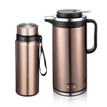 康佳 新品水光山色水壶组合二件套KGBL-213 电水壶 保温杯 烧水电热壶