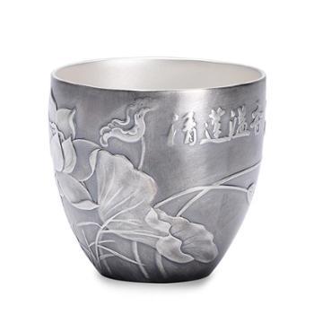 福恒金 浮雕银杯 银酒杯 银茶杯【三款可选】主人杯