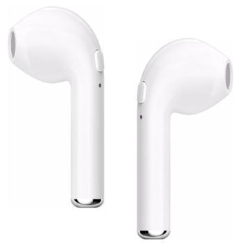 LANPICE蓝牙耳机颈挂式 4.2双耳真立体运动蓝牙耳机颈挂式礼品 i7单耳