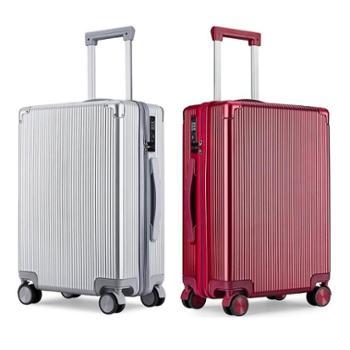 瑞士军刀拉杆箱 铝框行李箱万向轮商务旅行登机箱SA3820 大小20寸40寸可选