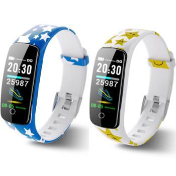 V8plus星耀运动心率血压血氧智能手环IP67游泳穿戴手环多色可选