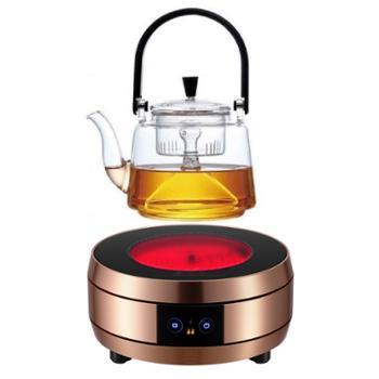 时尚蚂蚁 电陶炉煮茶器家用爆炒迷你电磁炉光波炉小型智能电热
