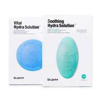 韩国Dr.Jart+蒂佳婷水动力药丸面膜蓝色绿色补水舒缓提亮 一盒装