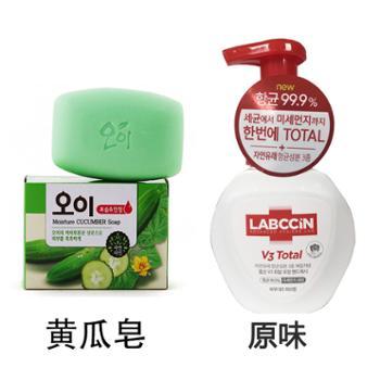韩国1个吴琼花香皂100g+1个杀菌洗手液250g