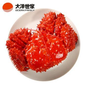 大洋世家/OCEANFAMILY熟冻帝王蟹1.9-2.2斤/只