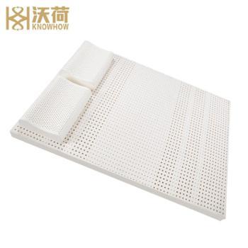 [不含枕头]沃荷纯天然乳胶床垫泰国天然橡胶进口乳胶儿童床垫席梦思