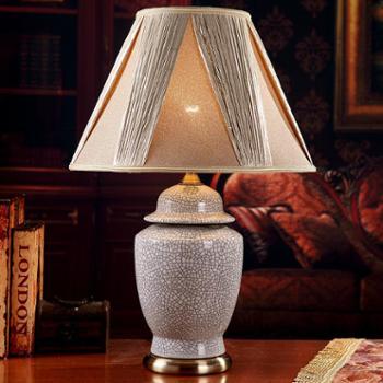 奢华欧式装饰陶瓷台灯