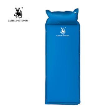 徽羚羊户外单人加宽加厚自动充气垫双人充气垫帐篷野营睡垫
