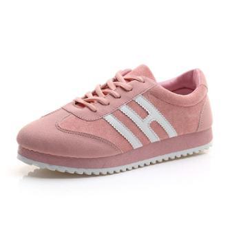 新款春夏季平底运动鞋女韩版学生百搭跑步休闲鞋单鞋2018女鞋