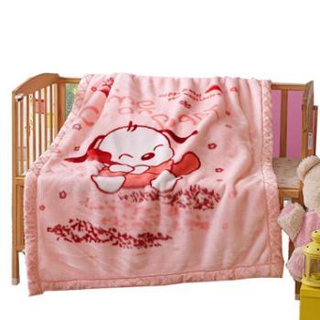 金世嘉儿童双层加厚毛毯单条
