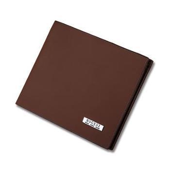 时尚男士短款钱包超薄款磨砂皮夹青年日韩学生软面横款钱夹多卡位