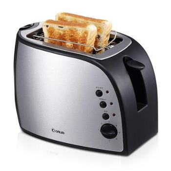 Donlim/东菱 DL-8053多士炉2片烤面包机 家用全自动不锈钢配烤架