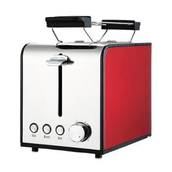 宇美乐 HT-6116A烤面包机2片家用多士炉全自动不锈钢早餐土吐司机