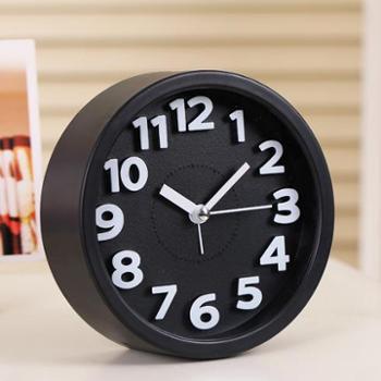 迈尔创意静音闹钟懒人学生儿童小闹钟闹表卧室床头电子时钟座钟