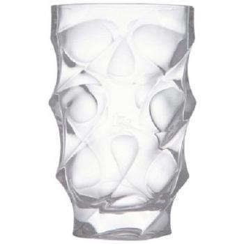克芮思托 云派生活云尚晶质花瓶大号 玻璃花瓶时尚美观大方典雅 高约30cm