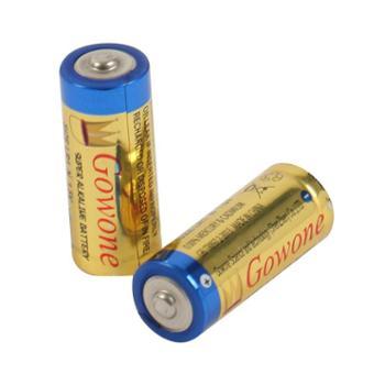 Gowone购旺8号电池LR1N型无汞环保碱性电池出口简装转经轮激光笔寻边器电池2节