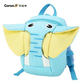 卡拉羊 防走失牵引绳背包1-3岁幼儿小书包 可爱卡通宝宝双肩包CX6062