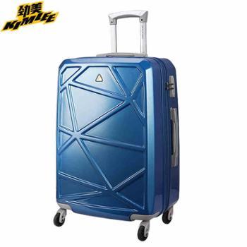爱华仕劲美拉杆箱万向轮24寸女登机箱旅行箱男20寸时尚学生行李箱